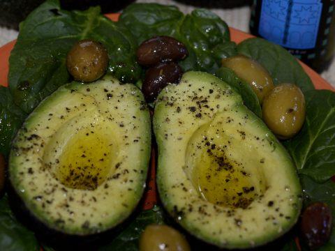 Avocados on the Half Shell